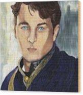Soldier Blue Wood Print