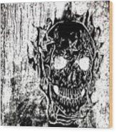 Soldier Ov Hell Wood Print