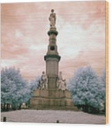 Soldier's Monument Wood Print