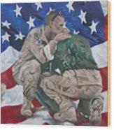 Soldiers Wood Print