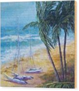 Soliman Bay Wood Print