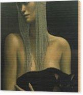 Solitare Wood Print