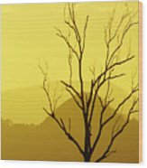 Solitude Wood Print