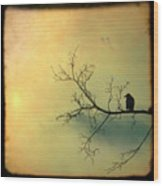 Solitude Mood Wood Print