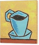 Solo Coffee I Wood Print