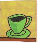 Solo Coffee II Wood Print