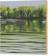 Solo Sail Wood Print