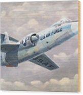 Solo Starfighter Wood Print