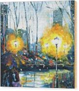 Solstice In The City, Vol.1 Wood Print