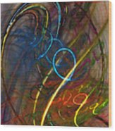 Some Critical Remarks Abstract Art Wood Print