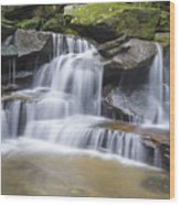 Somersby Falls 1 Wood Print