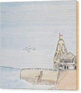 Somnath Jyotirling Wood Print