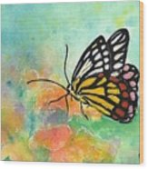 Song Of Joy - Butterfly Wood Print