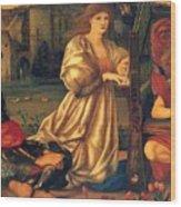 Song Of Love 1877 Wood Print