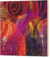Song Of Solomon - Rose Of Sharon Wood Print