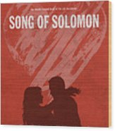 Song Of Solomon Books Of The Bible Series Old Testament Minimal Poster Art Number 22 Wood Print