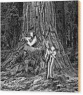 Songs In The Woods Wood Print