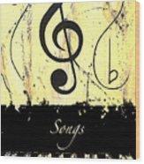 Songs - Yellow Wood Print