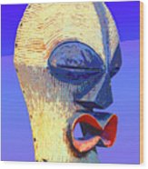 Songye Kifwebe Mask Wood Print