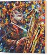 Sonny Rollins Wood Print