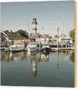 Sono Seaport Wood Print
