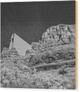 Sonoma Church 1 Wood Print