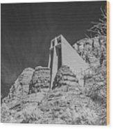 Sonoma Church - 2 Wood Print