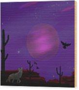Sonoran Lucid Dream Wood Print