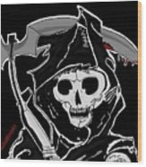 Sons Of Anarchy Logo Wood Print
