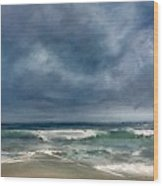 Soothing Shores Wood Print