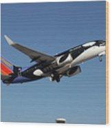 Soouthwest Airlines 737-700 Wood Print
