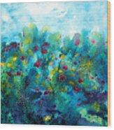 Soren Splash Wood Print