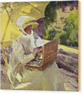 Sorolla: Painter, 1907 Wood Print