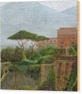 Sorrento Albergo Wood Print