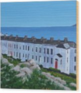 Sorrento Terrace, Dalkey Wood Print