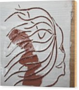Sorrow - Tile Wood Print