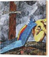 Sorrow's Angelic One Wood Print
