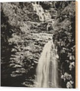 Sossego Waterfall Wood Print