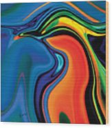 Soul Bird 2 Wood Print