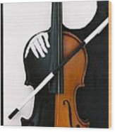 Soul Of Music Wood Print