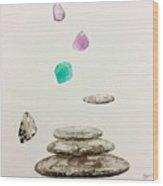 Soul Of Stones  Wood Print