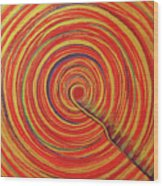 Soul Point - Rangrezaa Wood Print