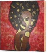 Soul Sista Number Five Wood Print