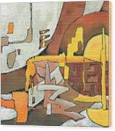 Soulscape Fall Wood Print