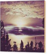 Sound Of The Sun Wood Print