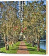 Sounds Of Victory The Bell Tower Furman University Greenville South Carolina Art Wood Print