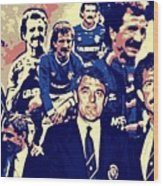 Souness And Smith The New Era Wood Print