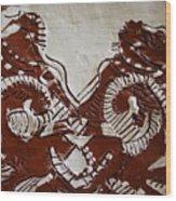 Sources  - Tile Wood Print