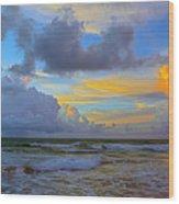South Beach 3633a Wood Print
