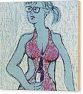 South Beach No. 1 Wood Print